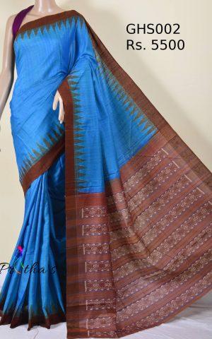 Pure Ghicha Silk Saree