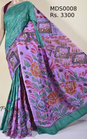 Pure Mulberry Silk Saree