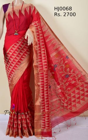 Bengal Handloom Cotton-Silk