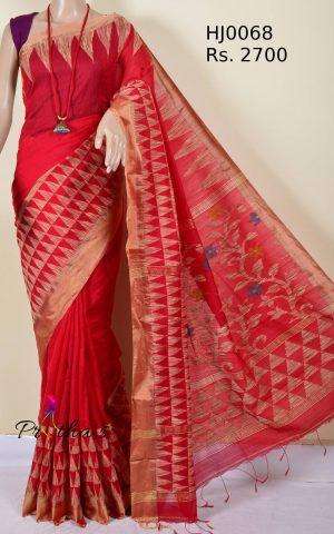Bengal Handloom Cotton-Silk