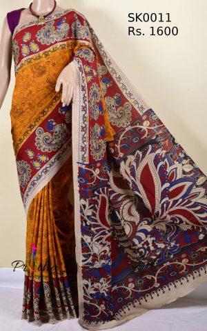 Kalamkari Silk