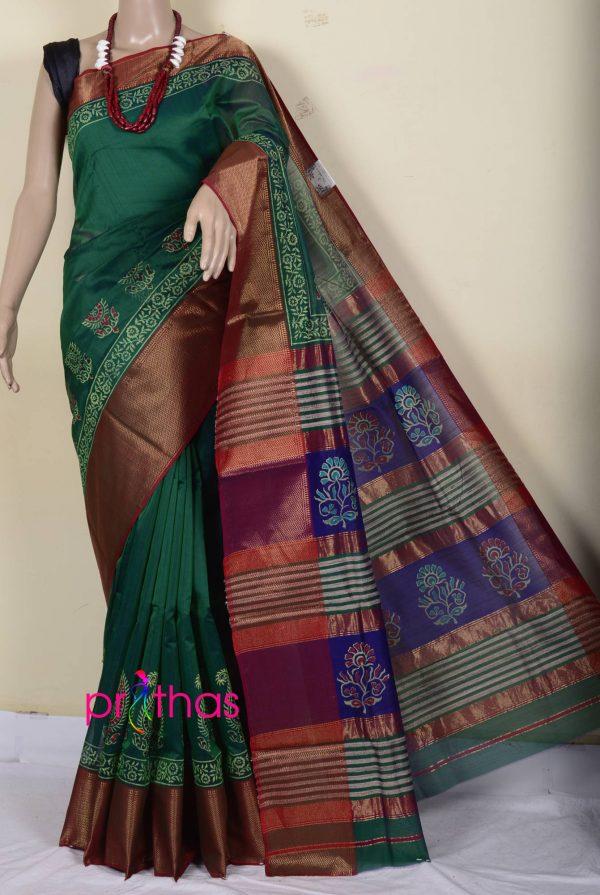maheshwari cotton-silk saree
