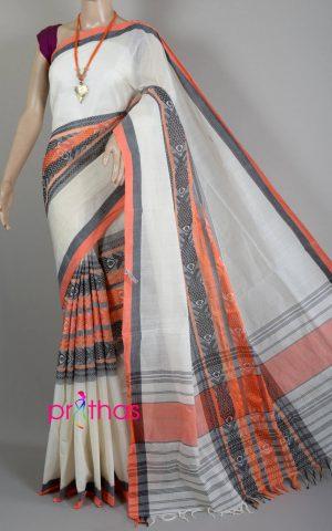 Handloom begumpuri cotton saree