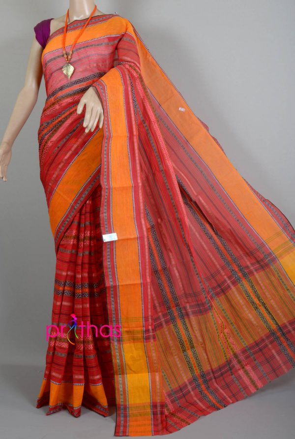 Handloom begumpuri cotton saree