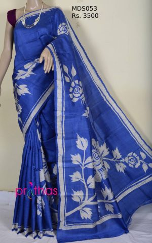 mulberry silk saree